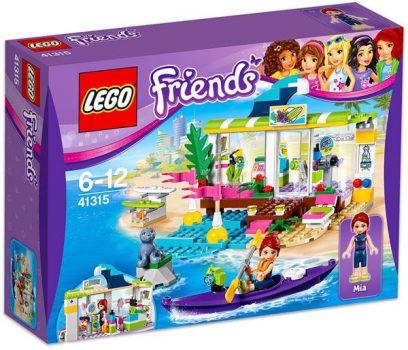 LEGO Friends - Heartlake-i szörfkereskedés 41315