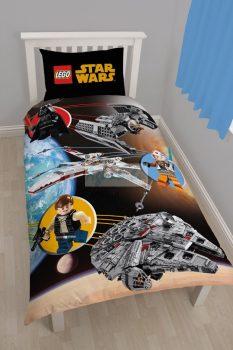 Lego Star Wars egyszemélyes ágyneműhuzat garnitúra