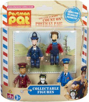 Postás Pat 5db-os figura szett
