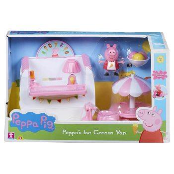 Peppa Malac jégkrémes autó játékszett Peppa Pig