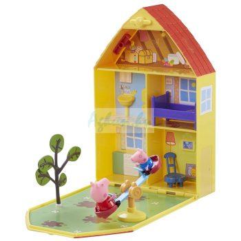Peppa Malac házikója kerttel Peppa Pig