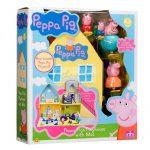 Peppa Malac házikója Peppa Pig, Zsoli, Papa-malac, Mama-malac
