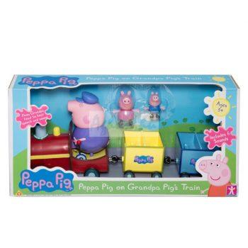 Peppa Malac nagypapi vonatja Peppa Pig
