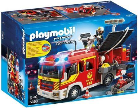 Playmobil Tűzoltókocsi vízágyúval 5363