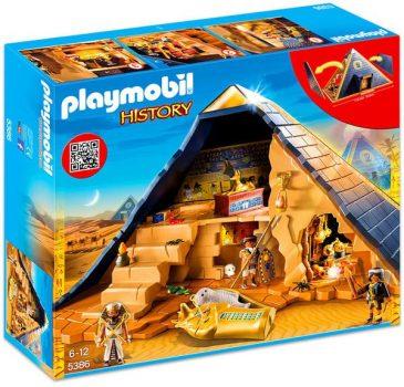 Playmobil A Fáraó Rejtélyes Piramisa 5386