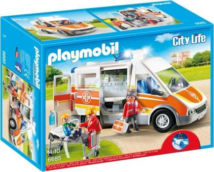 Playmobil City Life Mentőautó 6685