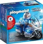 Playmobil City Action - Motoros rendőr 6876
