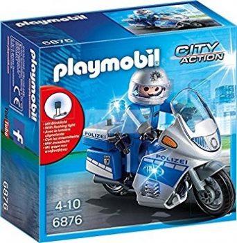 Playmobil City Action - Motoros rendőr 6876