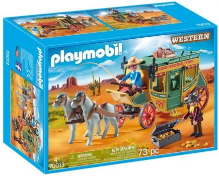 WESTERN Lovaskocsi PLAYMOBIL 70013