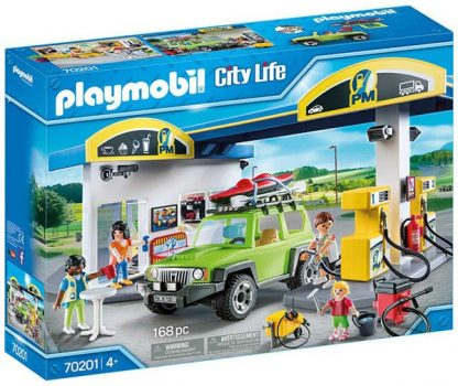 Playmobil City Life 70201 Benzinkút