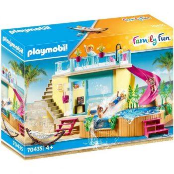 Playmobil Playmobil 70435 Nyaraló medencével és csúszdával