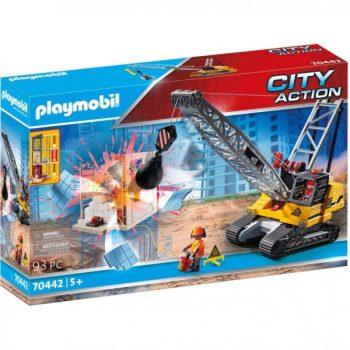 Playmobil Lánctalpas köteles kotrógép (70442)