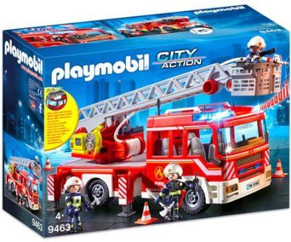 Playmobil Tűzoltóautó emelőkosárral 9463