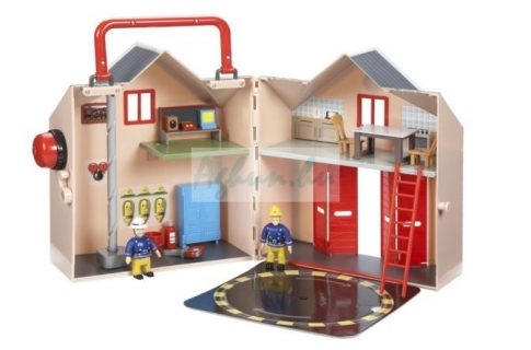 Sam a tűzoltó - Tűzoltó állomás nagy delux játék szett
