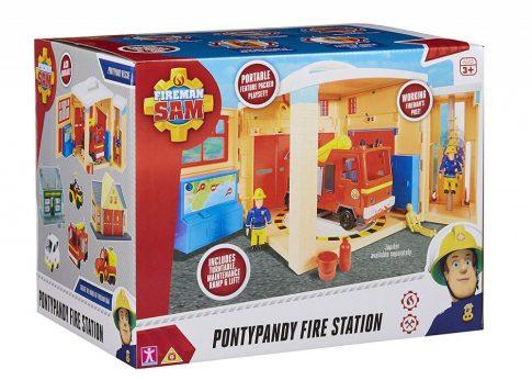 Sam a tűzoltó - Tűzoltó állomás nagy játék szett