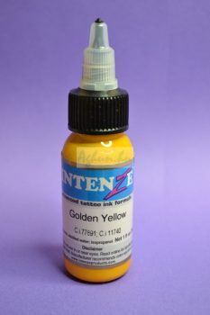 Intenze Tetováló Festék Golden Yellow Tattoo 30ml