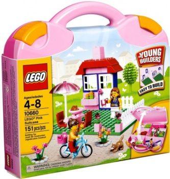 Lego 10660 Rózsaszín bőrönd