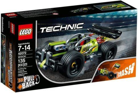 LEGO Technic - Ütköztethető versenyjármű I (42072)