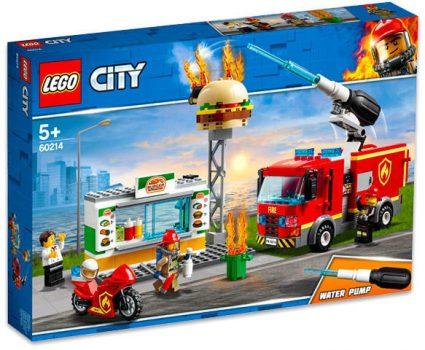 LEGO City - Tűzoltás a hamburgeresnél 60214