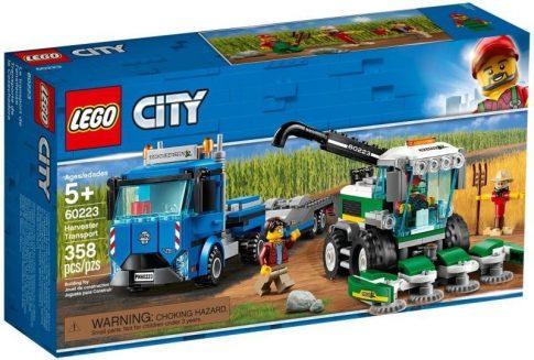 LEGO City - Kombájn szállító (60223)