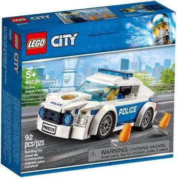 LEGO City - Rendőrségi járőrkocsi (60239)