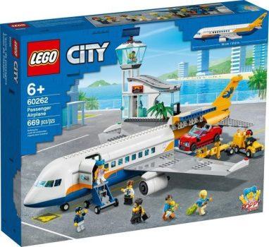 LEGO City - Utasszállító repülőgép (60262)