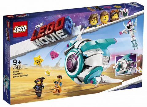 LEGO The LEGO Movie - Édes Káosz Tesho űrhajója (70830)