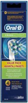 Oral-B CrossAction elektromos fogkefefej, pótfej 4db-os Braun EB50-4