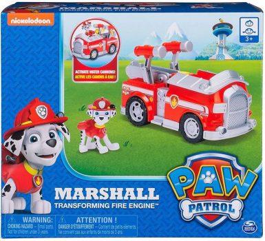Spin Master Mancs őrjárat: Marshall és mentőjárműve átalakítható