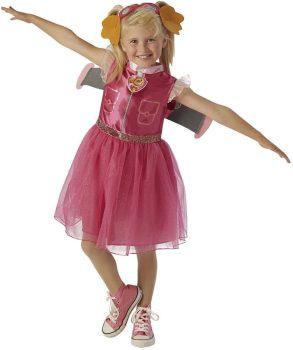 Mancs Őrjárat Sky Jelmez 3-4 éves gyermekre Paw Patrol ~104cm