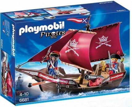 Playmobil Pirates - Katonai hajó ágyúkkal 6681