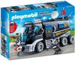 Playmobil SEK Rendőrségi rohamkocsi 9360