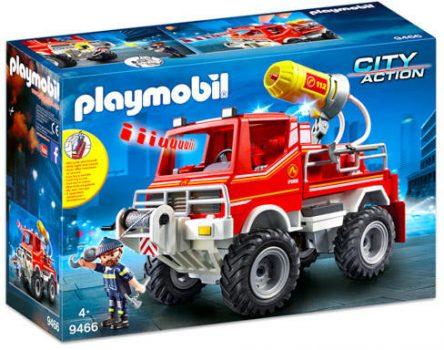 Playmobil Tűzoltóautó fecskendővel (9466)