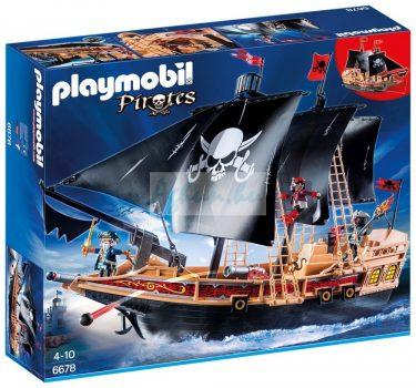 Playmobil Hét tenger farkasai Kalózhajó 6678