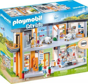 PLAYMOBIL City Life Nagy kórház készlet (70190)