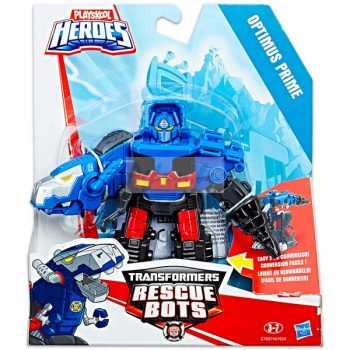 Optimus Prime Dino bot Mentőbot Transformers