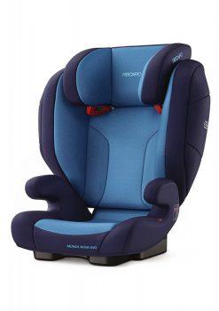 Recaro Monza Nova Evo Seatfix gyerekülés Xenon Blue