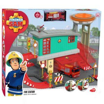 Simba Toys Sam, a tűzoltó tűzoltóállomás szett