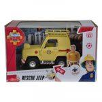 Simba Toys Sam a tűzoltó - Toms 4x4 terepjáróval