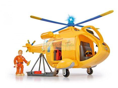Sam a tűzoltó helikopter Wallaby 2 - Tom figurával Simba