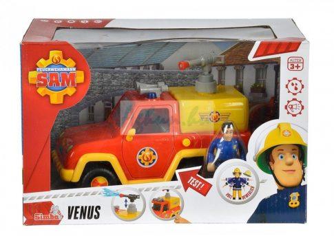 Sam a tűzoltó Venus tűzoltóautóval Simba