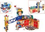 Simba Toys Sam a tűzoltó Mega XXL tűzoltóállomás (109251059038)
