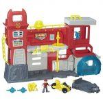 Playskool Heroes Transformers Rescue Bots Griffin Rock tűzoltó főhadiszállás
